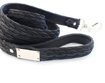 Vegan/Cruelty-Free/Leather-Free Upcycled Tyre/Tire Dog Leash