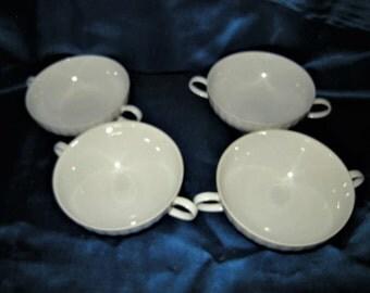 4 soup bowls by Thomas China - Germany - vintage