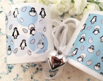 Playful Penguins Mug