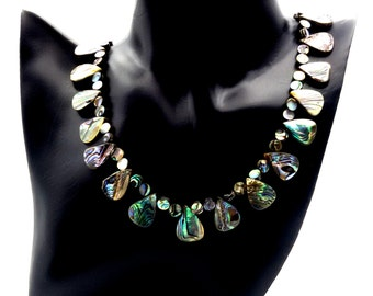 New Zealand Abalone necklace