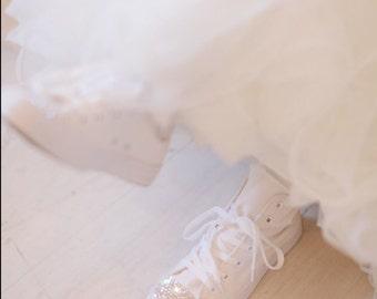 Swarovski Crystal wedding converse FREE SHIPPING