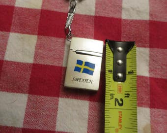 Mini lighter key chain lighter sweden vintage swedish keychain lighter w/ free ship