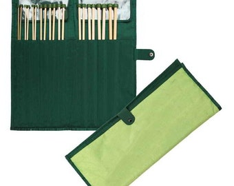 "Knit Pro Bamboo Single Pointed Needles-Set 10""und 12"""