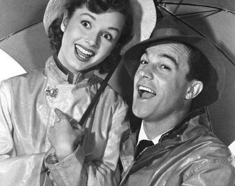 Debbie Reynolds and Gene Kelly Singin In The Rain 8x10