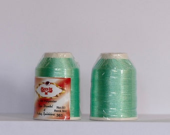 oya lace crochet polyester no50 thread color 361 Özen Is for crochet needle no 21 / 0,55