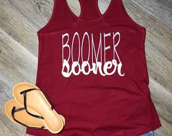 "Adult Raser Back ""Boomer Sooner"""