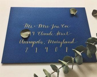 Calligraphy Envelopes, Wedding Invitations