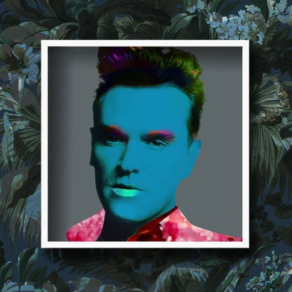 Morrissey Pop Art Portrait