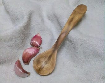 TSP/coffee spoon in Apple wood, hand carved