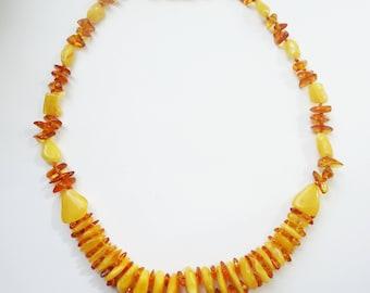 Beautiful Baltic amber necklace