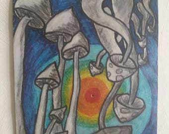 Kind of magic mushrooms