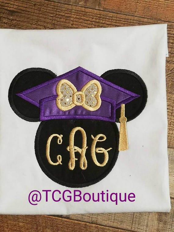 Graduation mickey | Etsy |Graduation Mickey Mouse Shirts