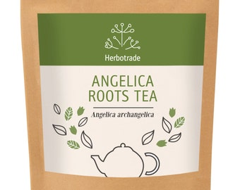 Angelica roots, Angelica archangelica, Premium Quality Angelica roots 90gr / 3 oz