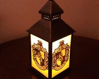 Harry Potter Hufflepuff House Crest Lantern