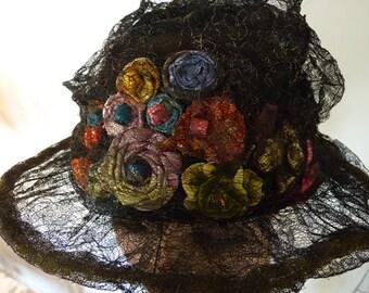 1923 Summer Hat, antique hat, 1920s