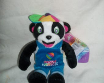 Vintage Lisa Frank Fantastic Beans Panda Painter Plush New with Tags