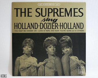 The Supremes- Supremes Sing Holland/Dozier/Holland LP (1st Pressing, 1966)