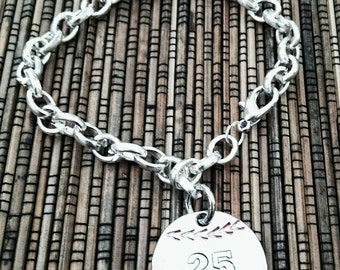 Hand Stamped Personalized bracelet