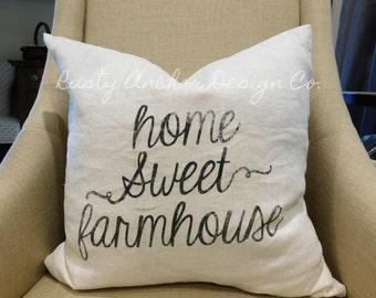 Home Sweet Farmhouse Pillow