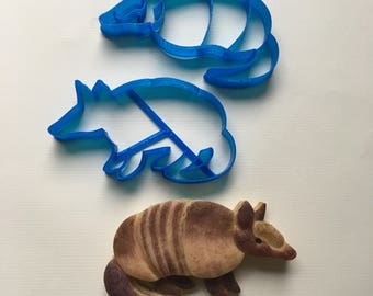 Armadillo Cookie Cutter Set