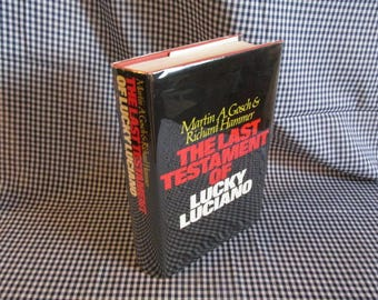 The Last Testament of Lucky Luciano by Gosch & Hammer