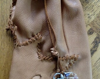 Deer hide Purse