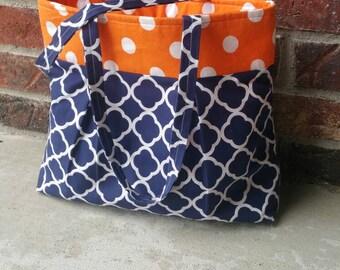 Pleated Rose Custom Bag