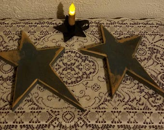 Primitive wooden Star