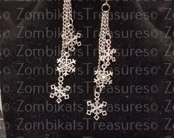 Snowflakes Are Falling 2 Earrings