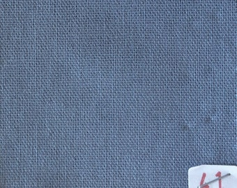 High quality soft cotton canvas dyed in Japan. Mid grey  nr41