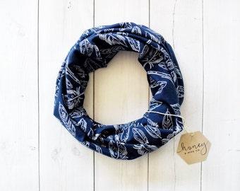 Cowl scarf - Children's scarf - Modern bib - Modern scarf - Children's cowl scarf