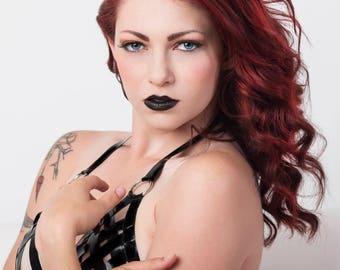 Alternative Tattoo High Quality Print Redhead Model Arielita