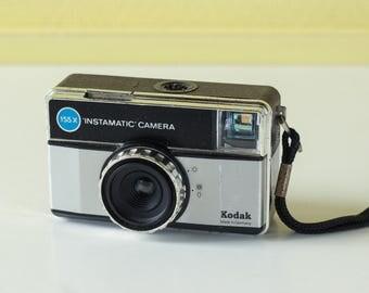 Kodak Instamatic 155x - Vintage German 1970's 126 film camera - Working