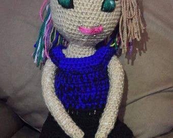 Punk rocker doll