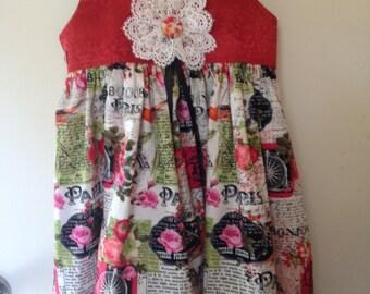 Paris collection 2 pc dress
