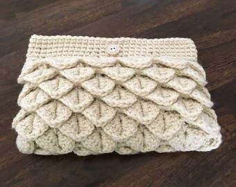 Handmade Crochet Clutch Purse/Bag/Wallet