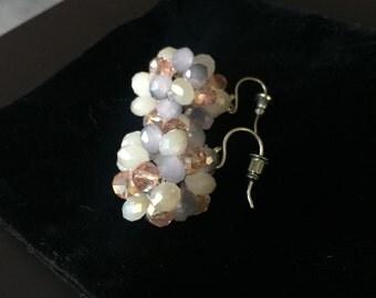 Star ball earrings