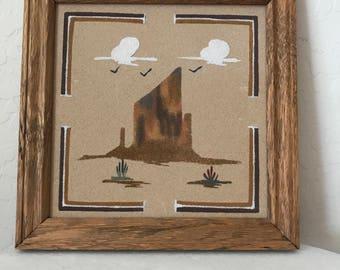 Navajo mountain art