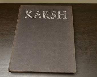 Karsh Portraits of Greatness Photography Book , 1960