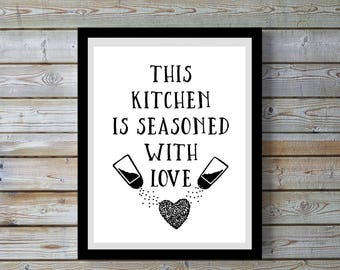 Kitchen art,quote,funny,kitchen,Digital Black & white print,Kitchen,Kitchen wall art,Kitchen decor,humorous.gift for home,women, printable