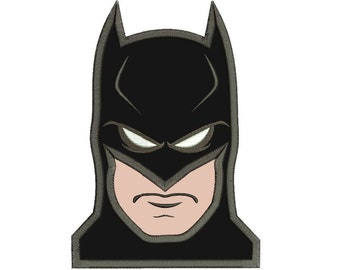 Batman Applique Design 3 sizes Instant Download