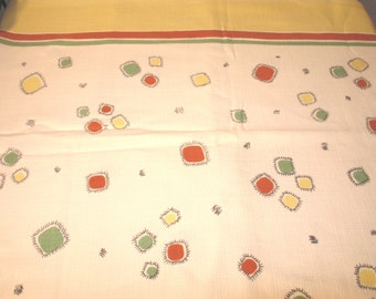 Vintage 50's tablecloth