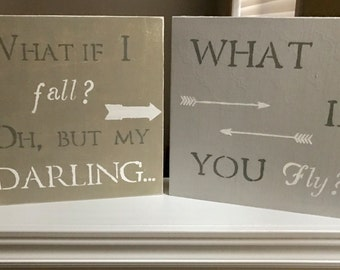 We Love You collection- wood signs-lightly distressed-home decor- inspirational-words to live by-kids room-babys room-custom-art-arrows