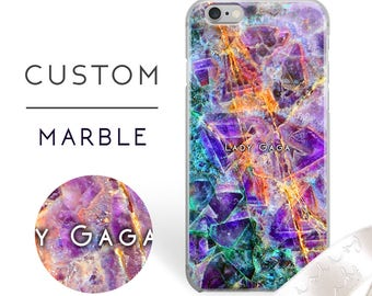 iPhone 7 case Personalized Marble iPhone 6s case Custom iphone 7 plus case personalized iphone 6s plus  case iphone 6 case iphone 6 plus 147