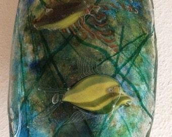 Gino Canedese for Murano Aquarium 50s