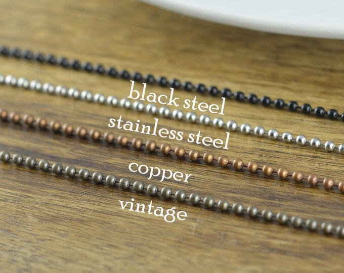 Silver Chain, Copper Chain, Stainless Steel Chain, Necklace Chain