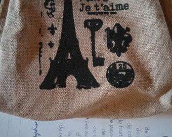 "small wallet ""paris"""