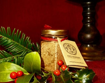 Handmade Loose Incense: Festive Yule Tidings