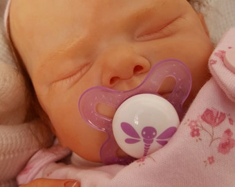 ADD-ON for custom reborn baby ~ MAGNETIC / modified pacifier / binky / dummy