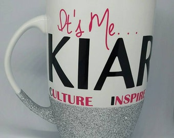 Personalized Gift, Personalized Mug, Latte Mug, Coffee Mug